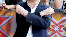 Louis Walsh arrives for the Manchester auditions of The X Factor at Lancashire County Cricket Club on June 16, 2014 in Manchester, England.  (Photo by Shirlaine Forrest/Getty Images)