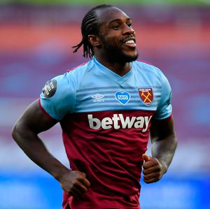 On target: Michail Antonio. Photo: Getty Images