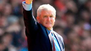 Southampton manager Mark Hughes. Photo: Adam Davy/PA Wire