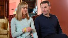 PERVERSE LOGIC: The finger of suspicion was somehow pointed at Kate and Gerry McCann. Photo: Joe Giddens/PA