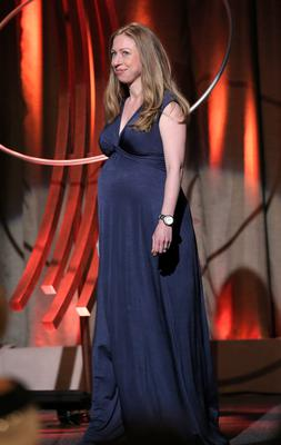 Chelsea Clinton takes the stage during the 8th Annual Clinton Global Citizen Awards at Sheraton Times Square on September 21, 2014 in New York City. (Photo by Jemal Countess/Getty Images)