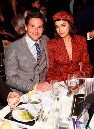 Bradley Cooper and Irina Shayk attend The National Board of Review Annual Awards Gala at Cipriani 42nd Street on January 8, 2019 in New York City.  (Photo by Jamie McCarthy/Getty Images for National Board of Review)