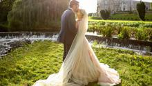 Orla and Aaron's Bellingham Castle wedding was like a fairytale romance | Photos by Will O Reilly