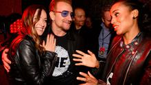 Olivia Wilde, Bono and Kerry Washington attend 2015 Global Citizen Festival to end extreme poverty by 2030 in Central Park on September 26, 2015 in New York City.  (Photo by Kevin Mazur/Getty Images for Global Citizen)