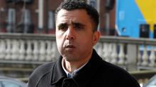 Kamel Bouazza, with an address in London, England pictured leaving the Four Courts after a Circuit Civil Court action.Pic: Collins Courts