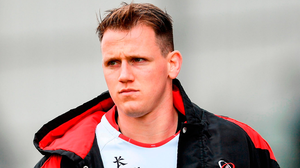 Craig Gilroy is back in the Ulster team after serving his IRFU suspension. Photo: Ramsey Cardy/Sportsfile