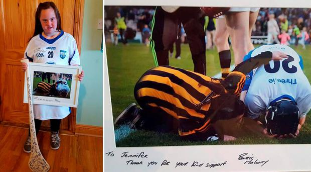 Waterford team reward proud sports fan Jennifer Malone for her act of kindness