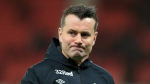 Shay  Given has left Derby