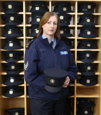 Achiever: Antoinette Cunningham, who has been promoted to the rank of inspector since this photo was taken. Photo: Liam Burke/Press 22