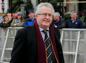 Supreme Court justice Seamus Woulfe was one of 81               people who attended a dinner in breach of pandemic               restrictions relating to indoor gatherings Photo: Collins