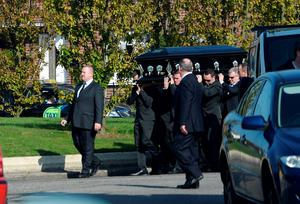 Funeral of Gerard Kavanagh, Our Lady of Good Counsel, Drimnagh, Dublin.