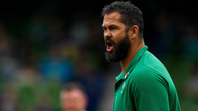 Andy Farrell appears impervious to criticism and immune to interference. Photo by Brendan Moran/Sportsfile