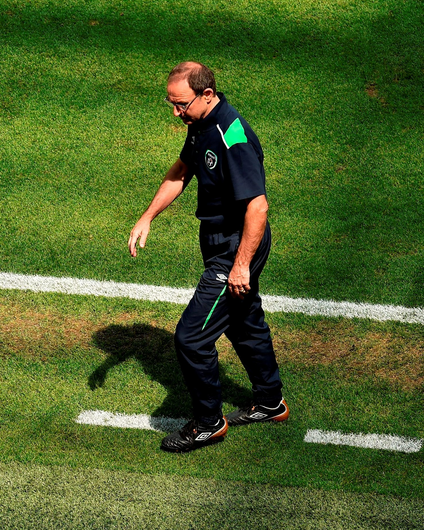 Republic of Ireland manager Martin O'Neill. Photo by Paul Mohan/Sportsfile