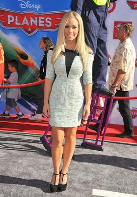 HOLLYWOOD, CA - AUGUST 05:  TV personality Kendra Wilkinson arrives at the premiere of Disney's 'Planes' presented by Target at the El Capitan Theatre on August 5, 2013 in Hollywood, California.  (Photo by Angela Weiss/Getty Images)