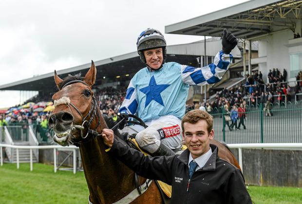 Jockey Barry Geraghty is looking to make his Killarney booking pay off in tonight's featured handicap hurdle. Matt Browne / SPORTSFILE