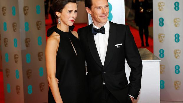 A spokeswoman for Benedict Cumberbatch confirmed yesterday that the Sherlock actor had married his fiancee Sophie Hunter at the weekend, surrounded by close family and friends. Photo: REUTERS/Suzanne Plunkett