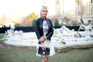 Paris Jackson attends  the Dior Homme Menswear Fall/Winter 2017-2018 show as part of Paris Fashion Week on January 21, 2017 in Paris, France.  (Photo by Vanni Bassetti/Getty Images)