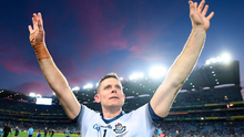 Legend: Dublin captain Stephen Cluxton following the All-Ireland SFC Final replay win over Kerry at Croke Park last September