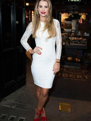 Vogue Williams has signed up for The Jump.  (Photo by Eamonn M. McCormack/Getty Images)