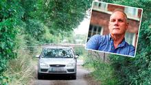 Graham Lowndes' (inset) warning follows aggravated burglary at house of man in his 80s (main scene pic)