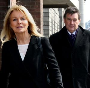 Jackie Lavin and Bill Cullen.