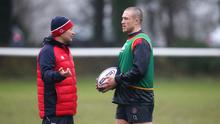 Mike Brown doesn't believe there is any issue with the type of training being conducted on the international scene under head coach Eddie Jones. Photo: Getty Images
