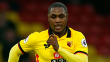 Manchester United are reported to be interested in former Watford forward Odion Ighalo. Photo: Steven Paston/PA