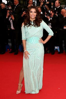 CANNES, FRANCE - MAY 18:  Actress Eva Longoria attends the 'Jimmy P. (Psychotherapy Of A Plains Indian)' Premiere during the 66th Annual Cannes Film Festival at the Palais des Festivals on May 18, 2013 in Cannes, France.  (Photo by Andreas Rentz/Getty Images)