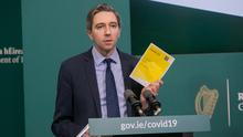 Minister for Health Simon Harris TD at Government Buildings, Dublin. Photo: Gareth Chaney/Collins