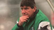 Ray Treacy, former Shamrock Rovers manager and former Republic of Ireland international. Soccer. Picture credit; David Maher / SPORTSFILE