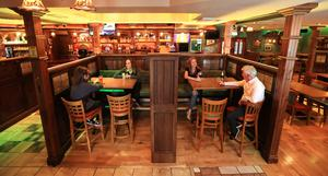 The revised layout of O'Gormans pub in Portlaoise as they get ready to reopen