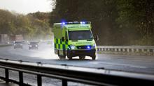 An ambulance crew has been suspended, union confirms. Stock picture