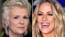 Dame Julie Walters and Caroline Flack (PA)