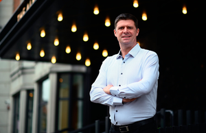AMBITION: Niall Quinn is determined to re-start football in Ireland. Photo by Stephen McCarthy/Sportsfile