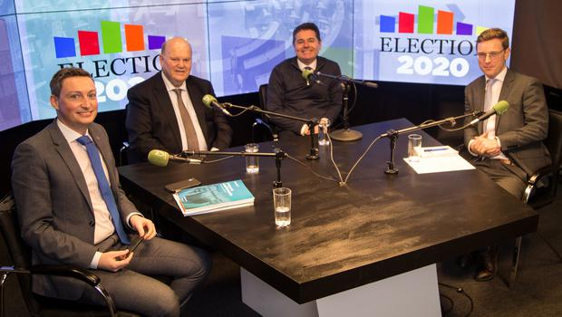 Michael Noonan and Paschal Donohoe join Kevin Doyle and Philip Ryan on the Floating Voter Feb 4, 2020