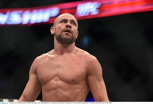 UFC star Cathal Pendred