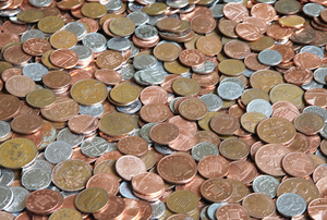 The cost of minting coins has risen as zinc prices have climbed