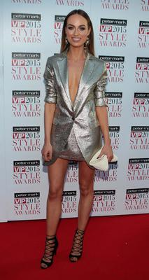 Daniella Moyles on the Red Carpet at The Peter Mark VIP Style Awards 2015 at The Marker Hotel,Dublin. Pictures Brian McEvoy