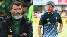 Ronan O'Gara (right) has spoken in the past of his admiration for Roy Keane (left)