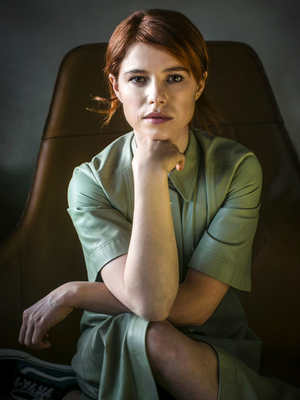 Star quality: Jessie Buckley, who will appear alongside Oscar winner Olivia Colman in the new film 'The Lost Daughter'. Photo: David Conachy