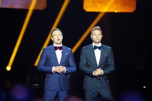 Aidan Power and Nicky Byrne present The Hit which aired on RTE earlier this year