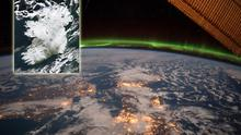 Images of Ireland from space. Photos: NASA