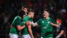 Ireland U-20 star Mark Hernan (right) dislocated his shoulder 16 times as a schoolboy. Photo by Harry Murphy/Sportsfile