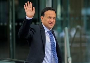 Teflon Tánaiste: Leo Varadkar is facing diffcult               questions over his dislosure of a confidential agreement               on doctors' pay deal. Photo: Collins
