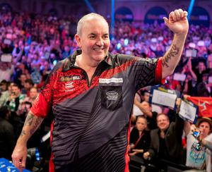 Phil Taylor will take on Fallon Sherrock live on Sky Sports this Thursday night