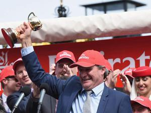 Darren Weir trained Prince of Penzance to Melbourne Cup victory in 2015 (Getty)