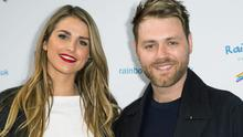Vogue Williams and Brian McFadden in 2014