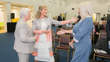 Project: Health Promotion Minister Catherine Byrne, Maria Bailey TD and Minister of State Mary Mitchell O'Connor at the HSE's plan launch