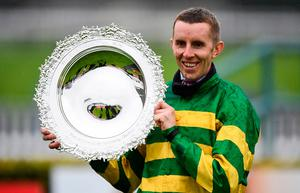 Mark Walsh lifts the Galway Plate