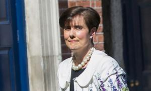 Education: Norma Foley said she understood pub owners' difficulties. Photo: Gareth Chaney/Collins